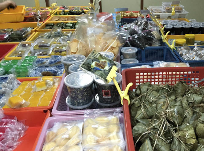 Selection of Kuih