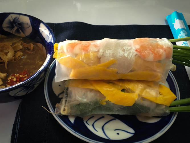 Fresh spring roll completed! And yes, I made the others...