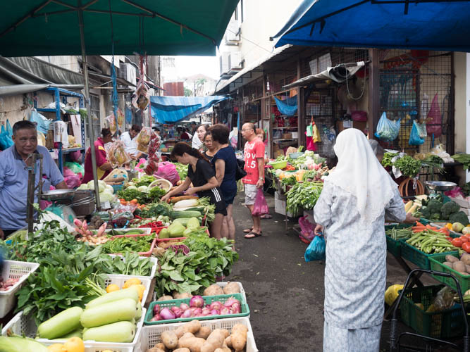 Markets in Penang