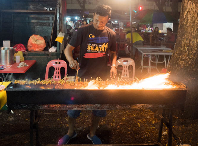 Penang night market